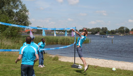Beachvolley - Outdoor activiteiten in Friesland - Ottenhome Heeg 1